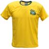 Brazilië thuis fan voetbalshirt bedrukken voor
