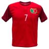Portugal thuis fan voetbalshirt Ronaldo champions