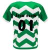 Voetbalshirt bedrukken 'Westland' achterkant eigen naam