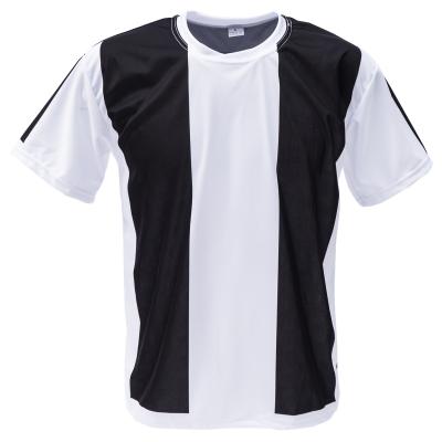 Voetbalshirt 'Zwart en wit' bedrukken