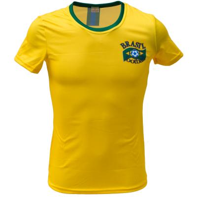 Voetbalshirt dames 'Brazilië thuis'