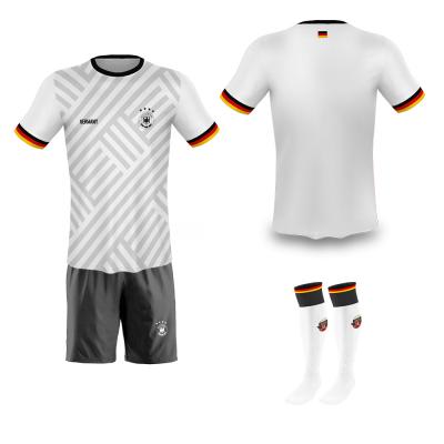 Duitsland fan voetbaltenue bedrukken '20