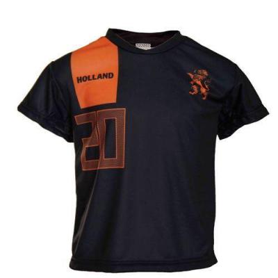 Nederland uit fan voetbalshirt Afellay