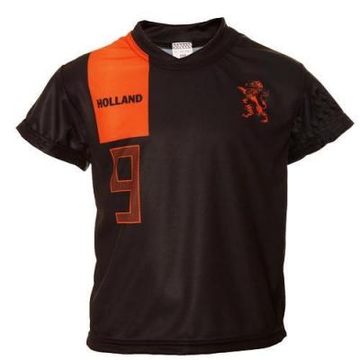 Nederland uit fan voetbalshirt v. Persie