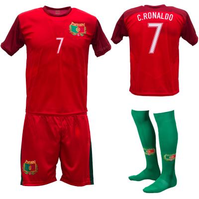 Portugal thuis fan voetbaltenue Ronaldo champions