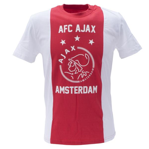 T-shirt Ajax AFC Logo katoen bedrukken voorkant
