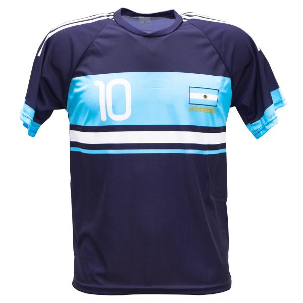Argentinië uit fan voetbalshirt Messi