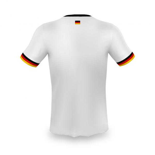 Duitsland thuis fan voetbalshirt bedrukken '20