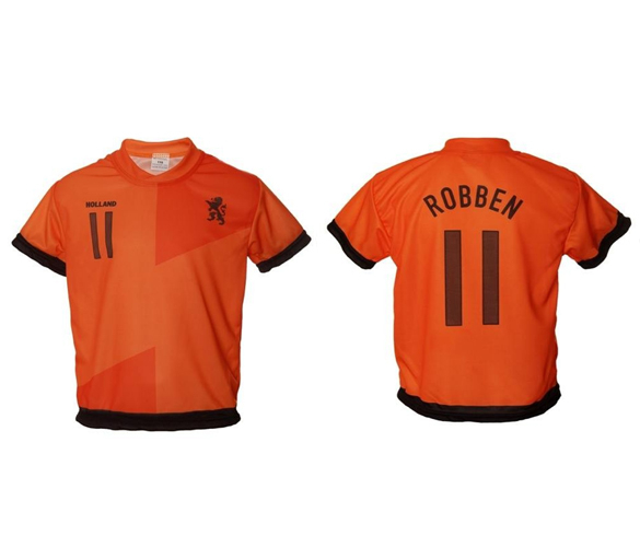Holland Robben thuis