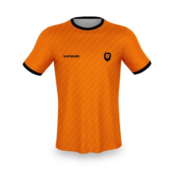 Nederland voetbalshirt bedrukken '20 voorkant