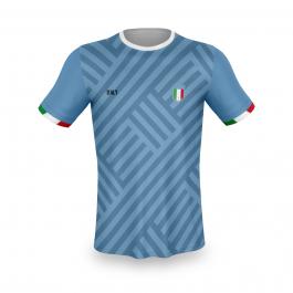 Italië thuis fan voetbalshirt bedrukken '20
