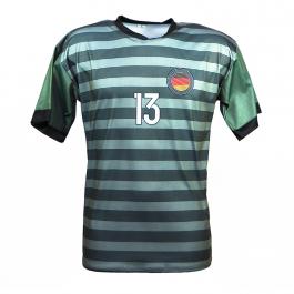 Duitsland uit fan voetbalshirt Müller (OP = OP)
