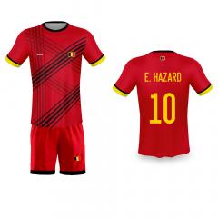 België thuis fan voetbalset Hazard