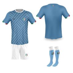 Italië thuis fan voetbaltenue bedrukken '20