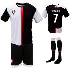 Voetbaltenue 'Ronaldo Turijn zwart en wit'