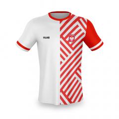 Polen thuis fan voetbalshirt bedrukken '20
