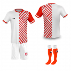 Polen thuis fan voetbaltenue bedrukken '20